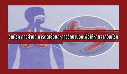 วัณโรค การผ่าตัด การติดเชื้อและการรักษาปอดเพื่อให้หายจากวัณโรค